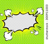 comic speech bubble  cartoon | Shutterstock .eps vector #300911003