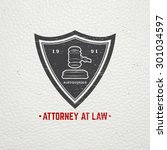 lawyer services. law office.... | Shutterstock .eps vector #301034597