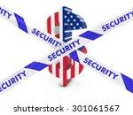 financial security concept  ... | Shutterstock . vector #301061567