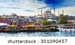 istanbul the capital of turkey  ... | Shutterstock . vector #301090457