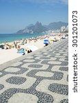Classic View Of Ipanema Beach...