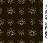 seamless pattern  abstract... | Shutterstock .eps vector #301209713