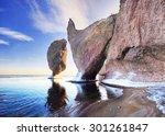 Pacific Ocean Landscape  Winte...
