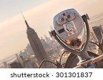 New York City  Usa. Vintage...