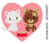 Kitten And Puppy Friendship....