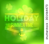 green colors abstract blurred... | Shutterstock .eps vector #301464473