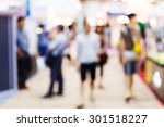 abstract blurred people... | Shutterstock . vector #301518227