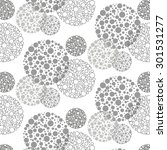 abstract grey circles background | Shutterstock .eps vector #301531277