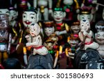 the water puppet on display at... | Shutterstock . vector #301580693