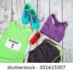 Running Gear Laid Out Ready Fo...