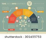 part of the report with logo... | Shutterstock .eps vector #301655753