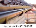 holder gutter drainage system... | Shutterstock . vector #301681907