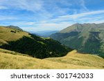 view of the pyrenees from vall... | Shutterstock . vector #301742033