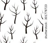 vector floral seamless pattern... | Shutterstock .eps vector #301778723