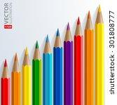 Infographic Rainbow Color...