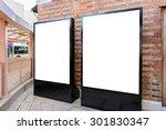 two big vertical   portrait... | Shutterstock . vector #301830347