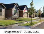 Family Homes In Suburban...