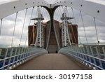 Millennium Bridge  Salford...