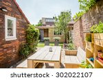 Small Backyard Garden With...