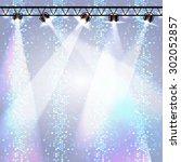 disco background. disco poster | Shutterstock .eps vector #302052857
