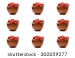 berry meats  summer berries... | Shutterstock . vector #302059277