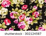 textured fabric  of rose...   Shutterstock . vector #302124587