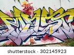 new york   august 1  2015 ... | Shutterstock . vector #302145923