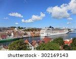 stavanger  norway   june 23 ... | Shutterstock . vector #302169143