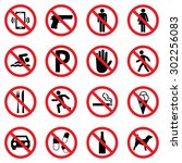 Prohibition Sign Set For Call...