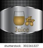 fruit juice symbols   ... | Shutterstock .eps vector #302261327