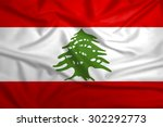 lebanon national flag... | Shutterstock . vector #302292773