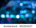 Blue Bokeh Abstract Light...