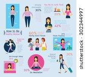 illustration infographics of... | Shutterstock .eps vector #302344997