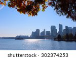 Stock photo downtown vancouver british columbia canada and its business district vancouver bc business 302374253