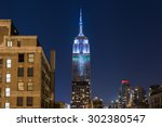 new york city   august 1  2015  ... | Shutterstock . vector #302380547