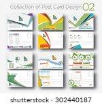 mega collection of postcard... | Shutterstock .eps vector #302440187