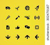 medical icons universal set for ... | Shutterstock .eps vector #302470187