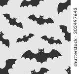illustration seamless pattern... | Shutterstock .eps vector #302497643