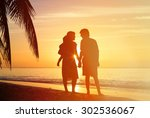 happy family together  romantic ... | Shutterstock . vector #302536067