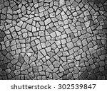 stone block paving texture | Shutterstock . vector #302539847