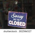 closed | Shutterstock . vector #302586527