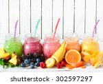 Healthy Smoothies With Fresh...