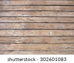 fragment of an old wooden wall...   Shutterstock . vector #302601083