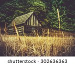 Rustic Old Farm Building Or...