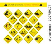 Natural Disaster Warning Signs...