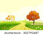 vector illustration of a... | Shutterstock .eps vector #302792687