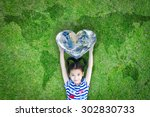 world heart day concept and... | Shutterstock . vector #302830733
