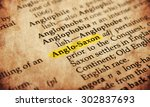 Stock photo anglo catholicism word in old textured dictionary 302837693