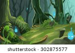illustration  the ancient... | Shutterstock . vector #302875577