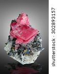 Small photo of Rhodochrosite from Swee Home Mine, Alma, Colorado.